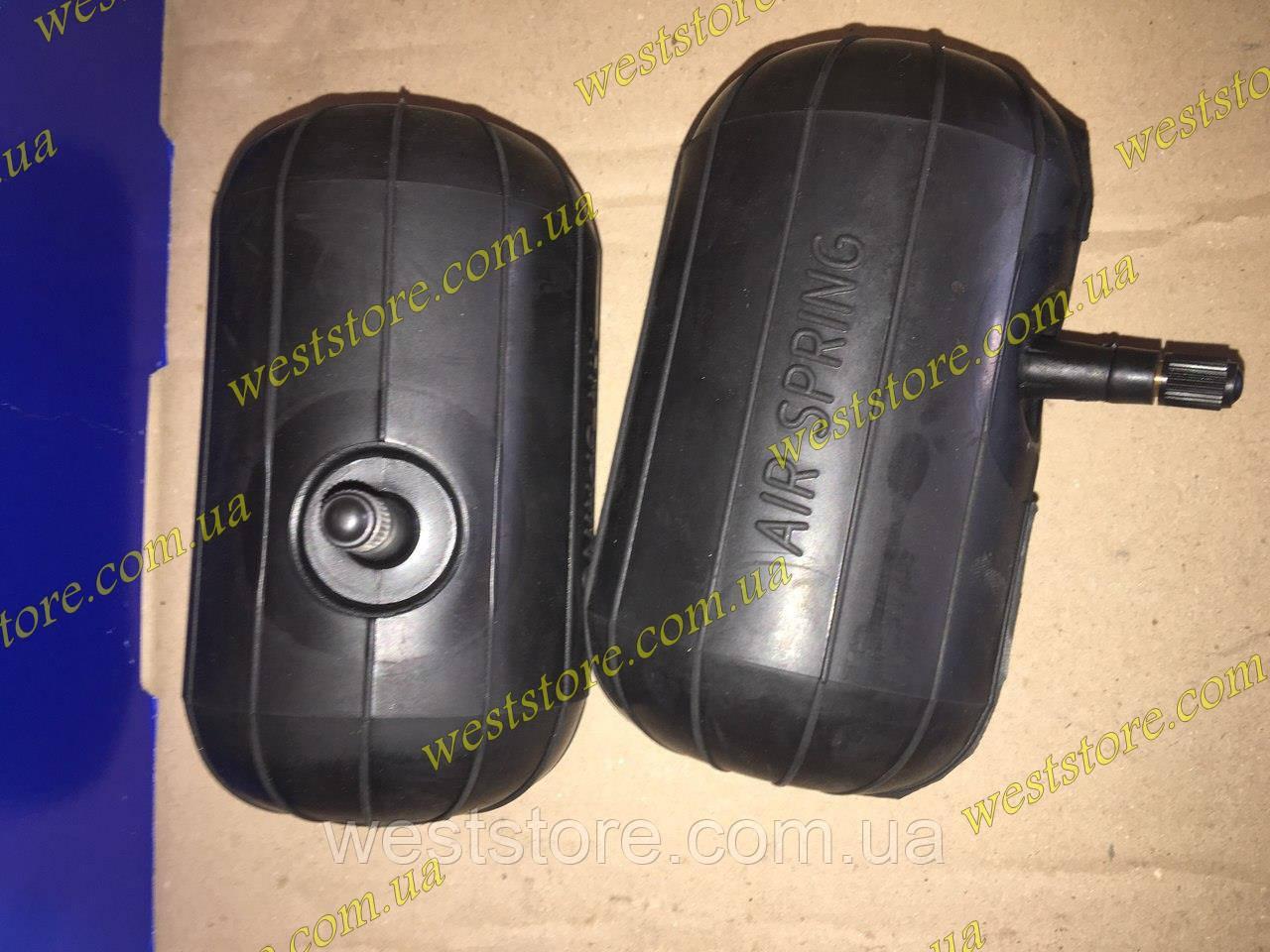 Пневмоподушки в пружины малые (короткие) усиленные Air Spring SSK сосок сбоку(d 83 мм, h 146 мм)