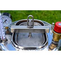 """Автоклав """" ЛЮКС - 14 """" электрический  из нержавеющей стали для домашнего консервирования ., фото 3"""