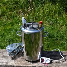 """Автоклав """"ЛЮКС - 28"""" електричний з нержавіючої сталі для домашнього консервування ., фото 2"""