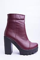 Ботинки из натуральной кожи №336-4, фото 1