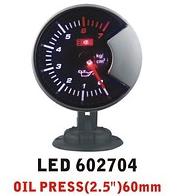 Дополнительный прибор Ket Gauge LED 602704 давление масла. Дополнительный прибор отзывы., фото 1