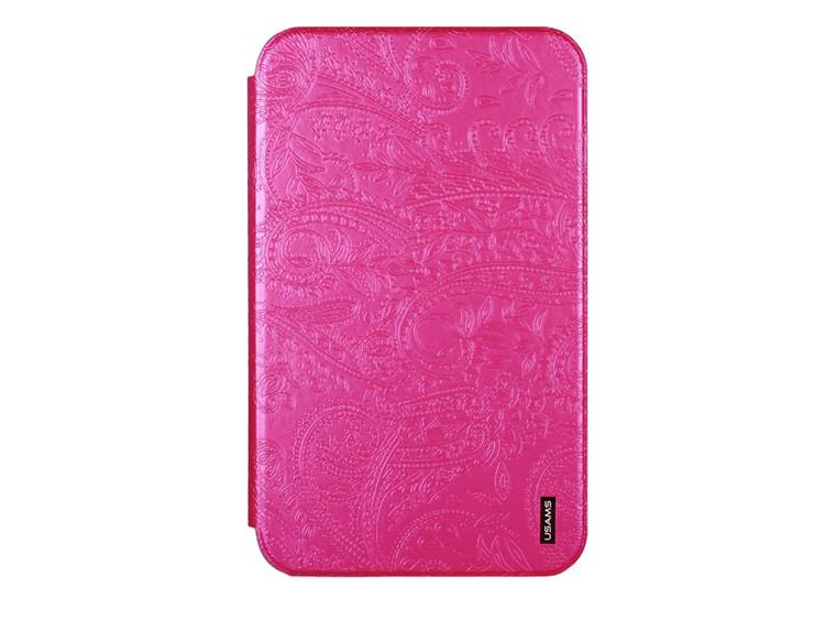 Чехол для планшета 10 дюймов USAMS Pink с рисунком
