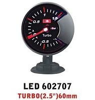 Дополнительный прибор Ket Gauge LED 602707 давление турбины.  Тюнинг