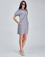 Универсальное платье из рубашечной ткани