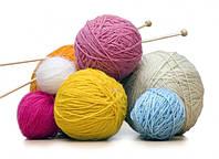 Пряжа для вязания,бубоны, маркеры, дополнительная спица