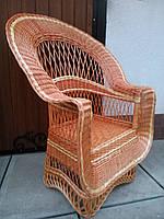 """Кресло из лозы """"Капля Елит"""" , фото 1"""