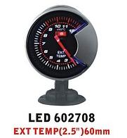 Дополнительный прибор Ket Gaug LED 602708 температура выхлопных газов, фото 1
