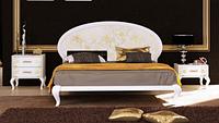 Кровать двуспальная Пиония 160  /  Ліжко двоспальне Піонія 160