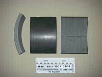 Накладка тормозная Камаз 5320, 5511 (Трибо)
