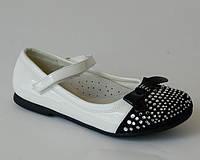 Туфли для девочек Шалунишка арт. 7210 чб (Размеры: 31-34)