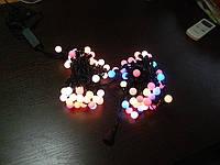 СВЕТОДИОДНАЯ БАХРОМА шарики 3х0,5 -цвет RGB, фото 1