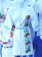 "Жіноча сукня ""Польовий букет"" біле"