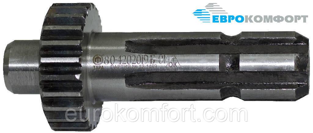 Хвостовик ВОМ МТЗ-80 (зуб. 6 шлицев) 80-4202019Б-01