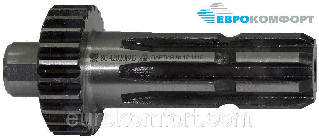 Хвостовик ВОМ МТЗ-80 (зуб. 8 шлицев) 80-4202019Б