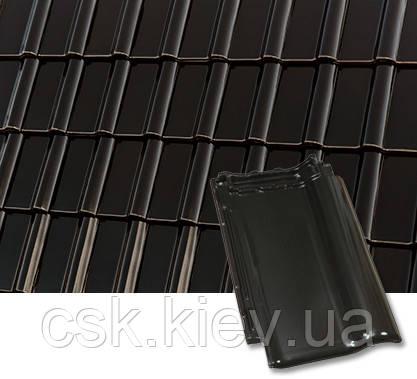 PIEMONT Черно-коричневая глазурованная