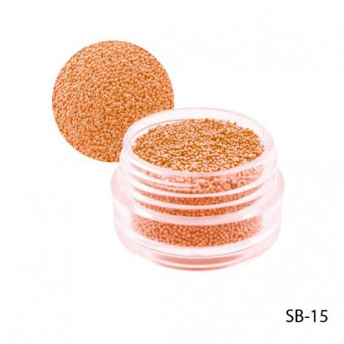 Оранжевые бульонки в круглой таре