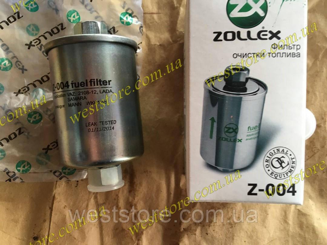 Фильтр топливный Ваз 2110 -2112,2113,2114,2115,Zollex (гайка) Z-004