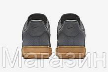 Мужские кроссовки Nike Air Force 1, найк аир форс серые, фото 3