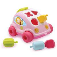 Машинка сортер Cotoons Smoby 211118 розовый