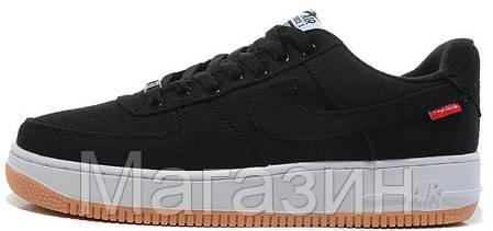 Мужские кроссовки Nike Air Force, найк аир форс низкие, фото 2
