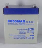 Акумулятор Bossman 12V 4Ah