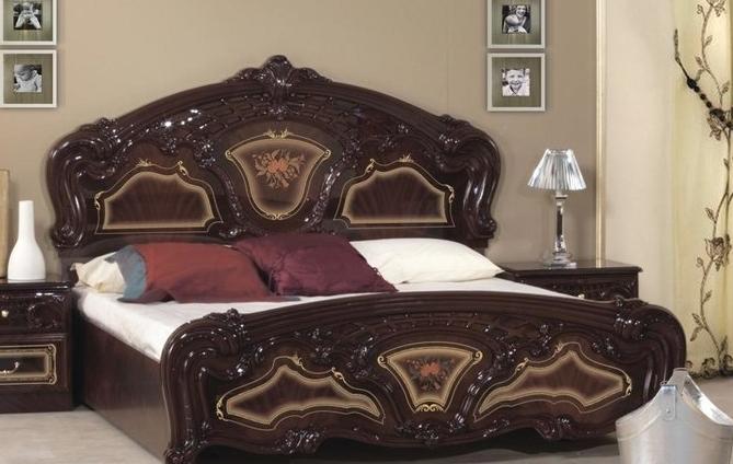 Кровать двуспальная Реджина 180  Миромарк
