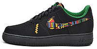 Мужские кроссовки Nike Air Force 1, найк аир форс черные