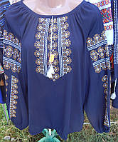 """Жіноча вишивана блузка """"Орнаментна"""""""