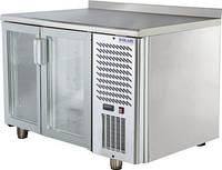 Стол холодильный Polair TD2GN-G двухдверный со стеклянными дверями