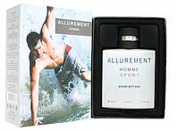 Мужская туалетная вода Christian ALLUREMENT homme Sport 100ml