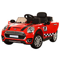 Детский электромобиль  МИНИ КУПЕР M 3182 EBR: EVA, 2.4G, 3-7 км/ч-Красный- купить оптом