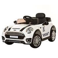 Детский электромобиль  МИНИ КУПЕР M 3182 EBR: EVA, 2.4G, 3-7 км/ч-Белый- купить оптом