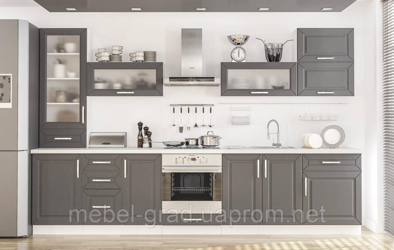 кухня гамма мебель сервис матовый фасад цена 3 350 грнпогм