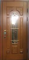 Дверь стальная с ковкой Русь