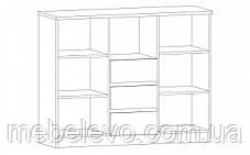 Комод Аляска 2Д 3Ш 1045х1308х429мм    Мебель-Сервис, фото 2