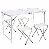 Стол + четыре стула для пикника