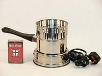 Печка/ горелка электрическая для розжига угля.