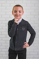 Трикотажна кофта для хлопчика на гудзики