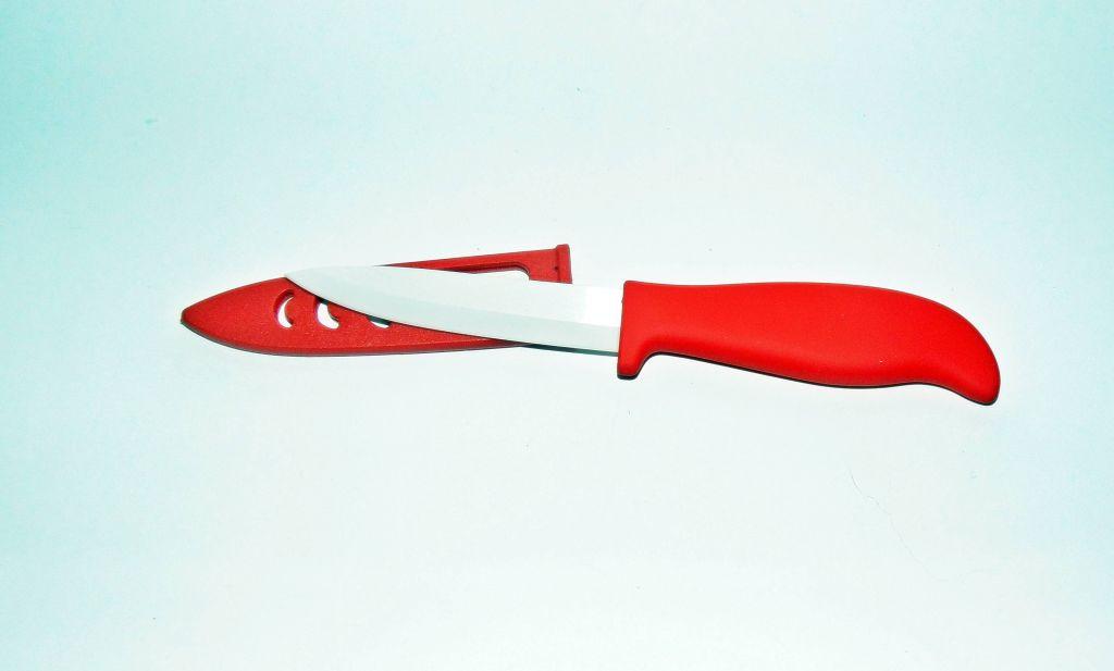 """Нож керамический для овощей 4"""" в чехле"""