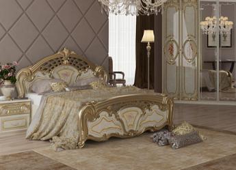 Кровать двуспальная Реджина Голд 160   Миромарк