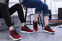Кроссовки мужские Nike бордовые, фото 1