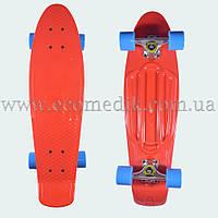 """Мощный лонгборд пенни борд 27 скейтборд красный penny board nickel 27"""", фото 1"""