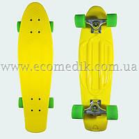 """Мощный лонгборд пенни борд 27 скейтборд желтый penny board nickel 27"""""""