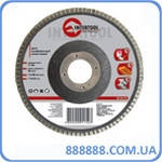 Диск шлифовальный лепестковый 180 Х 22мм зерно K100 BT-0230 Intertool
