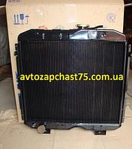 Радиатор Паз 3205 (3-х рядный) Шадринский автоагрегатный завод, Россия