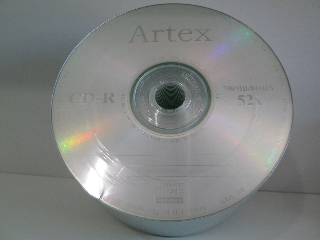 CD-R Artex 80 52x (50 шт) серебряный