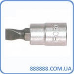 "1/4"" Головка-бита шлицевая (SL) 6 мм, L=32 мм 3233206 Force"