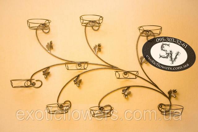 Гілка на 9 чаш, підставка для квітів