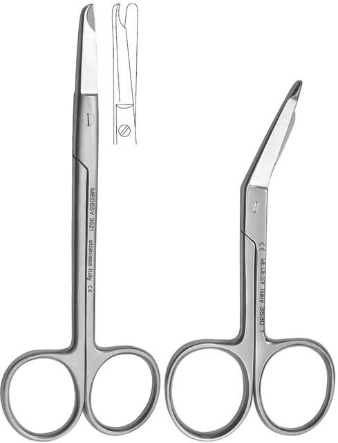 Ножиці для зняття швів та пере'язочного матеріалу