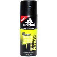 Дезодорант мужской спрей Adidas Адидас Pure Game men 150 мл, Испания